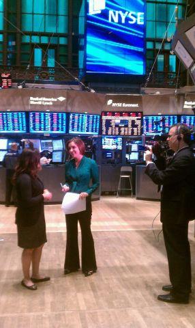 LandColt Trading Margaret Brennan from NYSE
