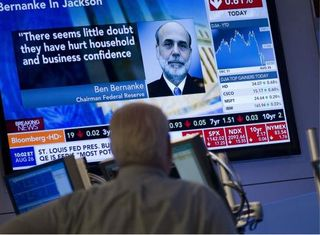 LandColt Trading Bernanke on The Hill